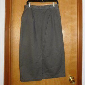 Christopher & Banks Skirts - Christopher & Banks Green Khaki Skirt